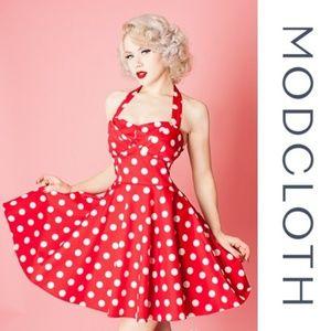 Ixia/Modcloth - Traveling Cupcake dress - S